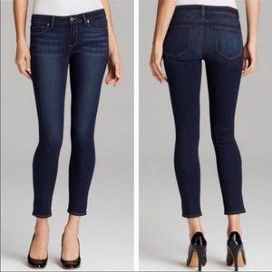 Paige Kylie Crop Denim Blue Jeans Size 32